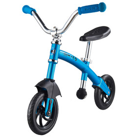 Micro G-Bike Chopper Deluxe Laufrad Kinder blue